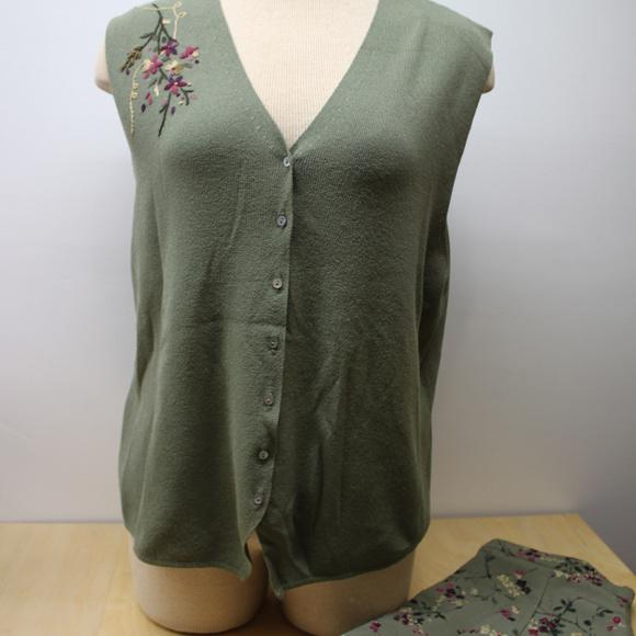 Koret Dresses & Skirts - Koret Spring long Skirt and Button Sleeveless top